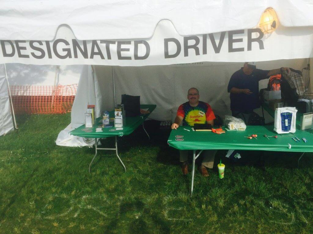 2017 Designated Driver Booth IDP