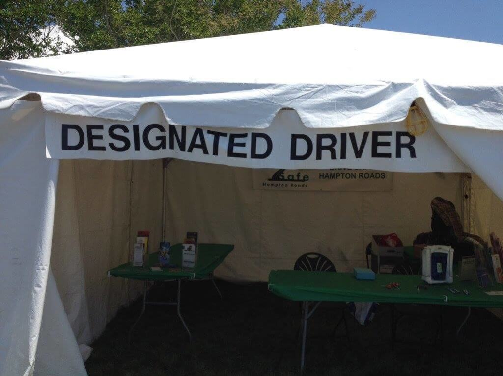Designated Driver Booth Chesapeake Jubilee 2017