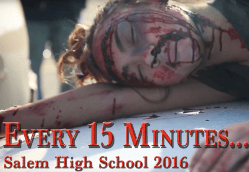Every 15 Minutes -Salem High