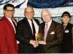 1993 - Hanna Winner - Jerry, Kirk, John Hanna, & Kim