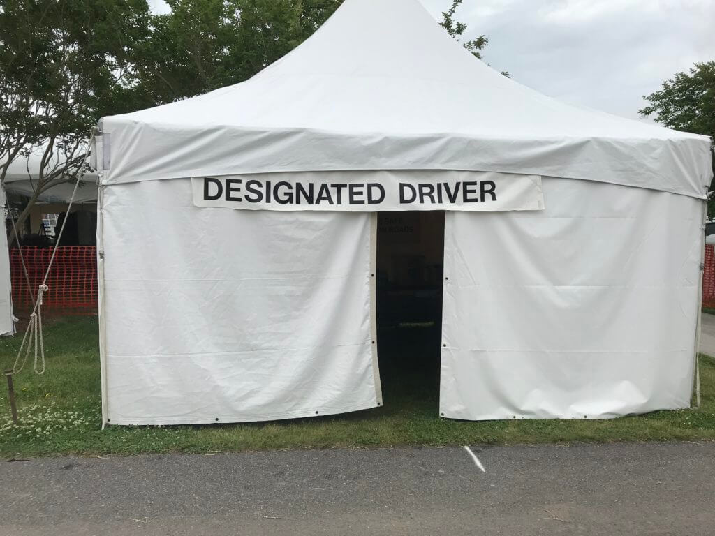2018 Designated Driver Booth