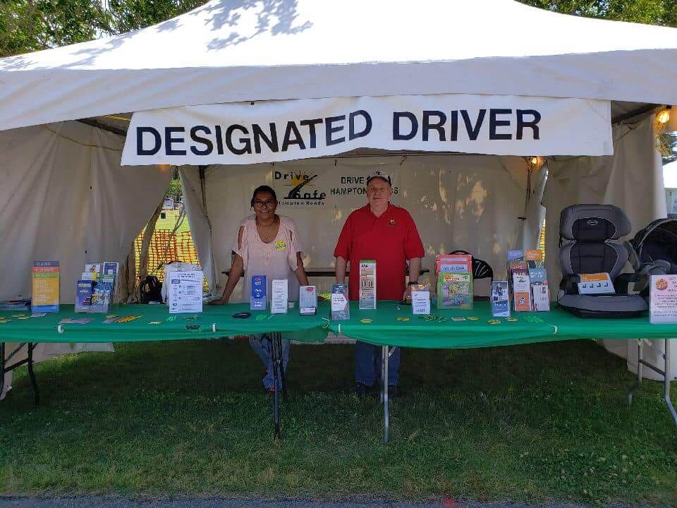 2019 Designated Driver Booth