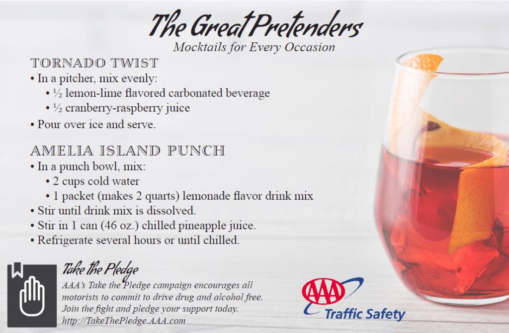 AAA Amelia Island Mocktail