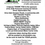 2020 Peninsula Commercial Motor Vehicle Driver Appreciation Day